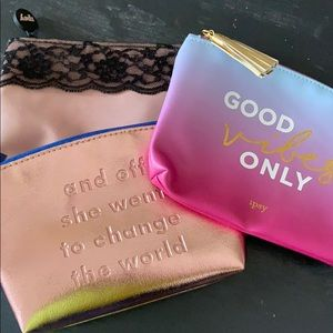 Ipsy Make Up Bags